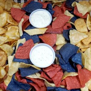 Crispy Crush Grazing Platter